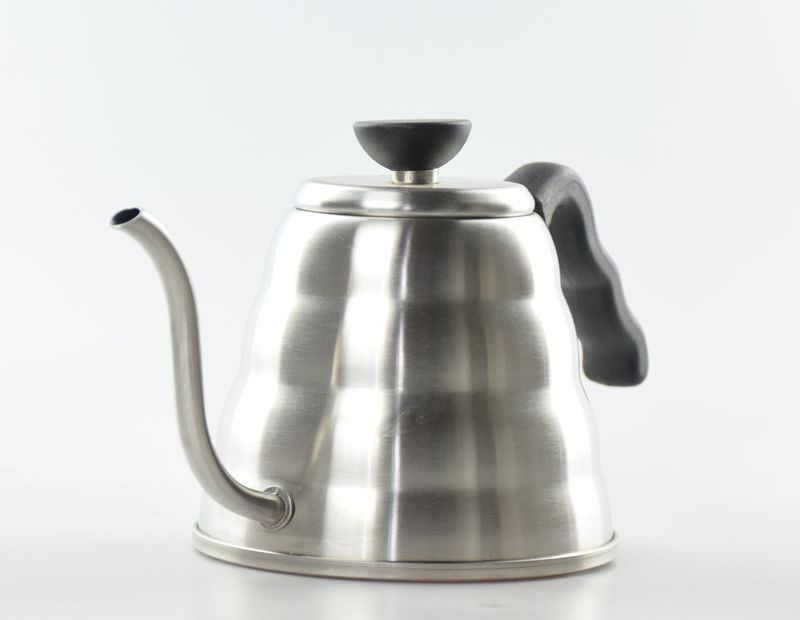 pour over handle pot Amazon hot sale 1000ml Stainless Steel Tea Pot V60 Tea and Coffee Drip pour over handle Kettle Pot