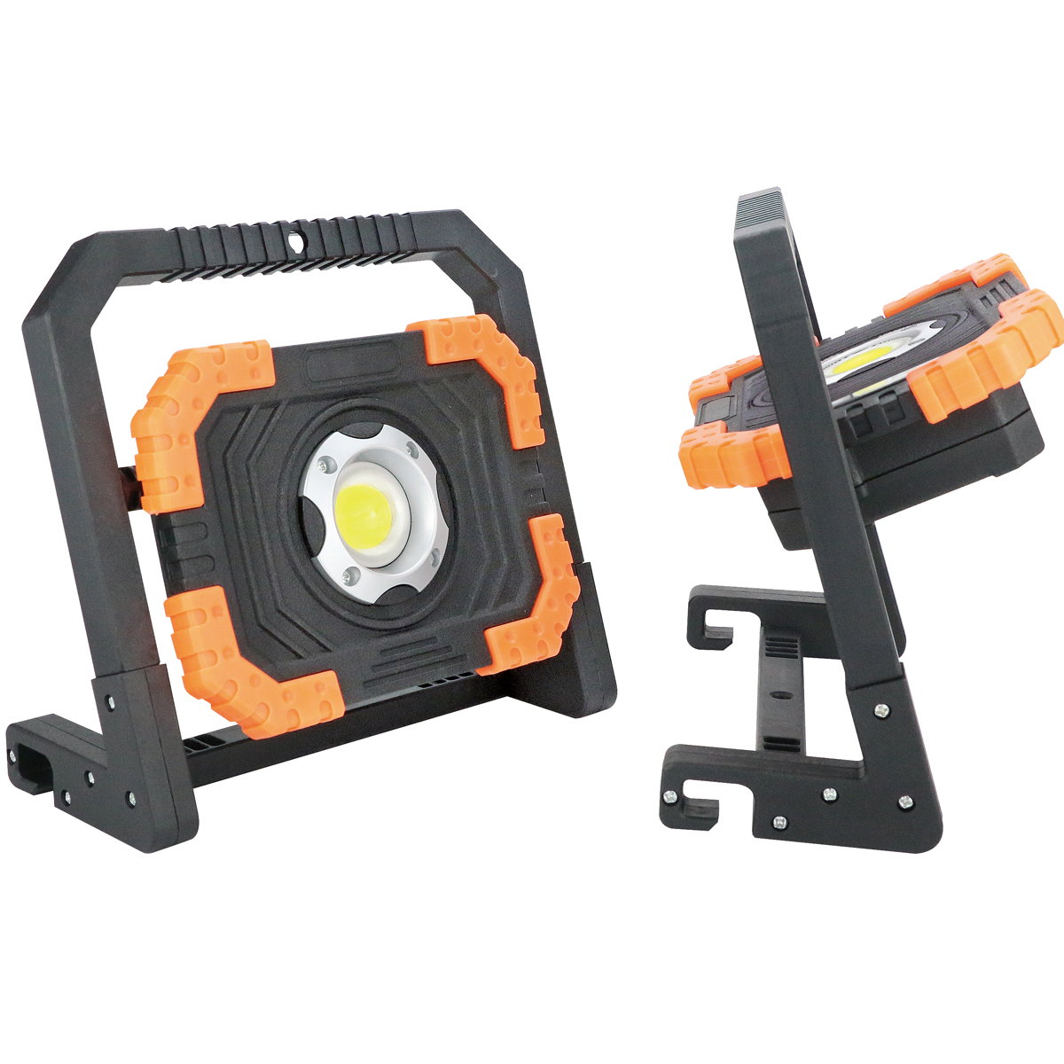 800Lumens 10W USB Rechargeable Magnetic Stand Work Light