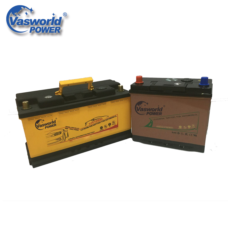 New Arrival 12V 200Ah LiFePO4 Car Lithium Ion Auto Battery