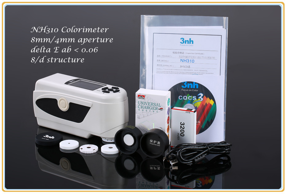 3NH NH310 rice whiteness meter olorimeter color meter with CIE LAB