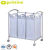 Folding Dirty Clothes metal frame laundry wash bag