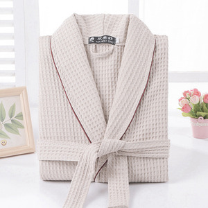 High quality wholesale 100%cotton terry bathrobe for men