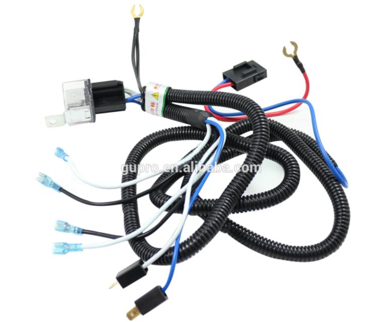 on wiring relay klakson