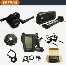 C965 Bafang 8fun motor bbshd bbs03 48v 1000w electric bike kit with 48v 14ah lithium battery