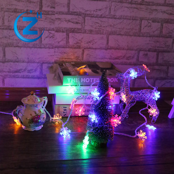 waterproof fairy snowflake bulb cover string animated decorative light street outdoor glitter color changing christmas led