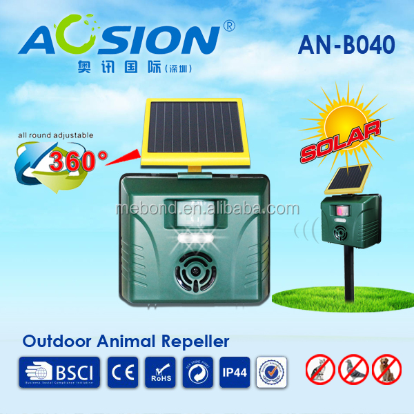 Aosion Outdoor Drive the Dog Away solar animal repeller