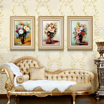Embossed Oil Painting Frame Cheap Art Deco Plastic Frames For Canvas ...