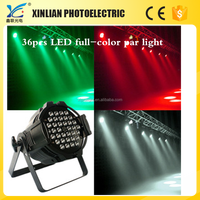 night club lighting 36 X3W RGB led par can light , led par light
