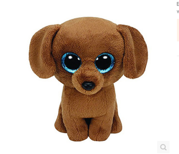 f777cceff01a Plush Big Eyes Animal Sriese - Dog ! Beanie Boos,Dark Brown Puppy ...