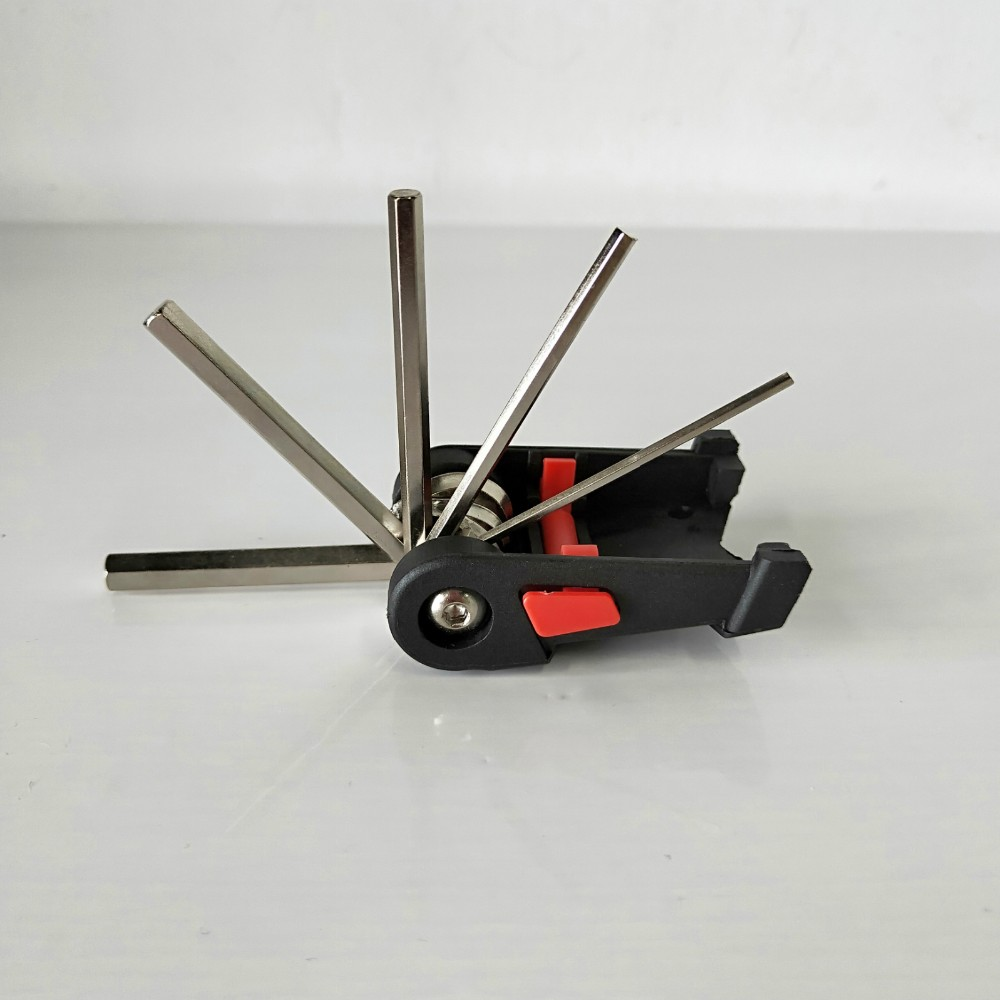 19 in 1 Multi Tool Bike Multitool Bicycle Repair Set with Chain Break Wrench