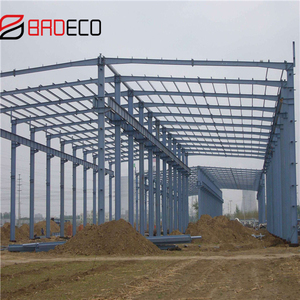 prefabricated warehouse used high quality steel structure