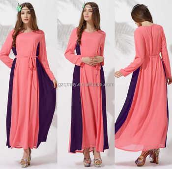 New Women Plus Size Muslim Old Sexy Fat Lady Fashion Dress Cotton ...