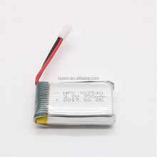 High power drone batterie 902540 3,7 v 750 mah li-ion akku 3,7 v rc hubschrauber batterie