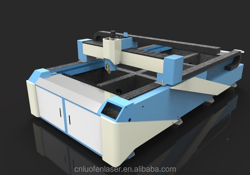 stainless carbon steel & Aluminum metal fiber laser cutting machine