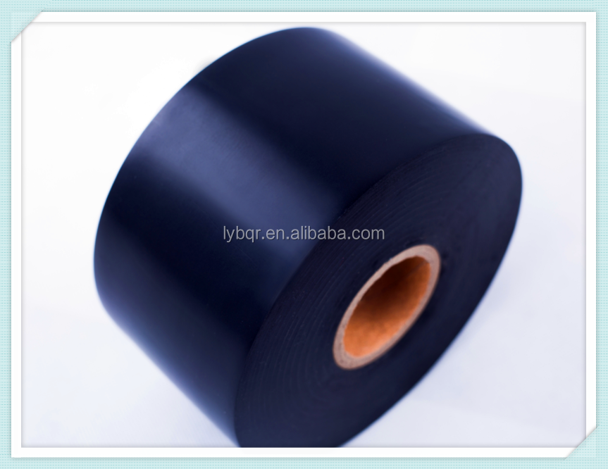 Black anti-corrosion pipe wrapping tape for underground pipeline