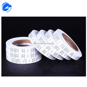 Washable china supplier Woven Cloth Logo Sewn-in Clothing Size Printing Garment Label,t-shirt custom logo branded woven label