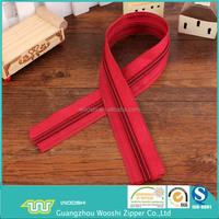 wholesale price 5# nylon coil zipper long chain 200yard/roll package in good condition