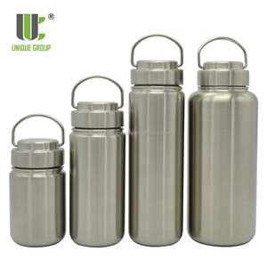 Klean Kanteen Outdoor Boiling Water Wide Mouth Single Wall Stainless Steel Water Bottle with Leak Proof Stainless steel Cap