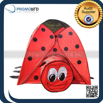 Funny Kids Play Tent Ladybug Shape Red Color Plastic Mini Play Game Houses With Tunnel  sc 1 st  Alibaba & Funny Kids Play Tent Ladybug Shape Red Color Plastic Mini Play ...