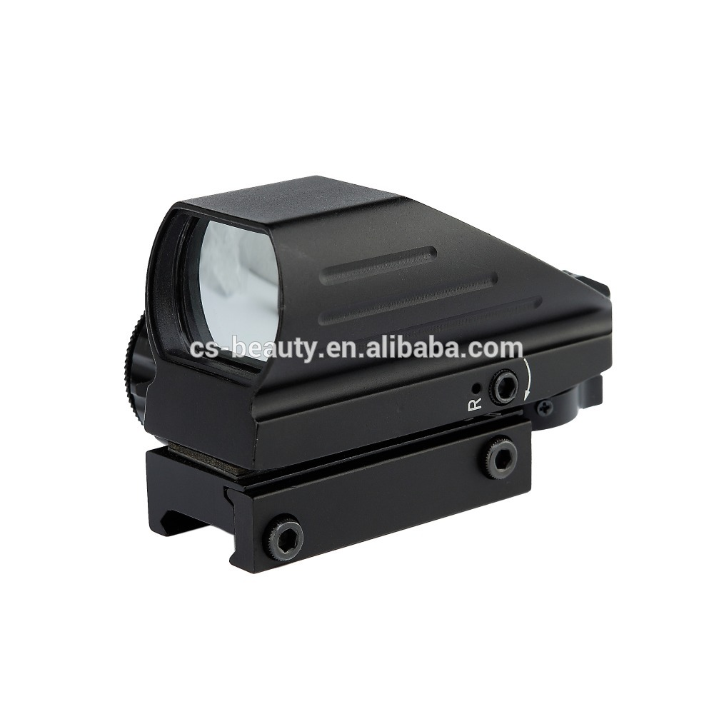 Factory supply good quality hunting 1x22x33 red dot sight riflescope With Stable Function