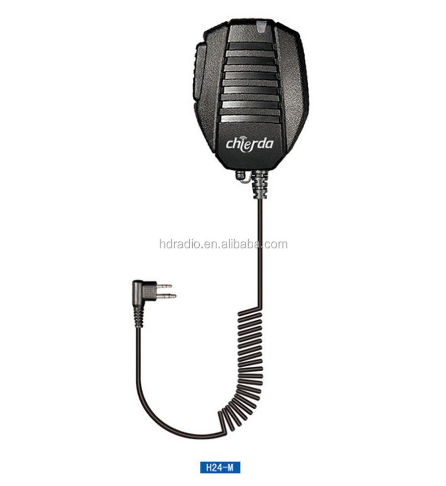 CHIERDA H24-M Palm microphone with push-to-talk functionality