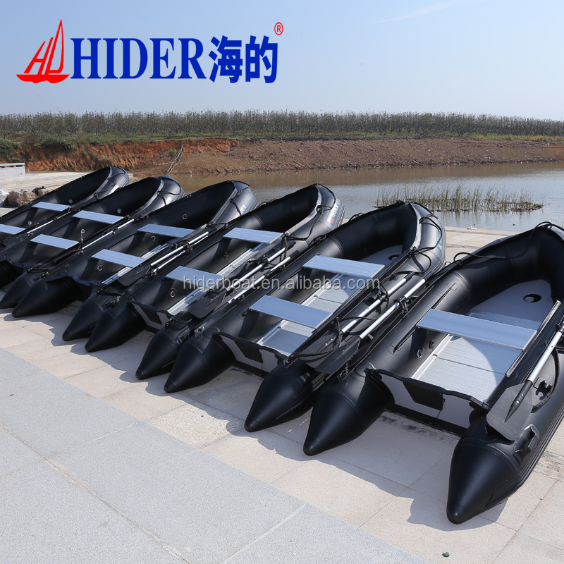 Hider folding boat aluminum fishing boat cabine boat for sale
