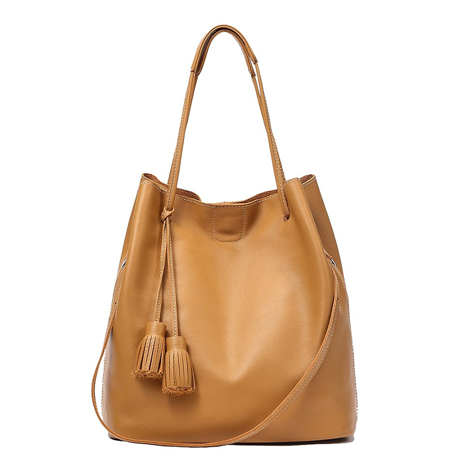 4ff0bf61b1 Get Quotations · Genuine Leather Hobo Handbags for Women Leather Shoulder Women  Handbags Evening Clucthes