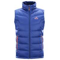 Wholesale Cheap Outdoor Winter Nylon Ultra Lighting Water Repellent Foldable Duck Down Gilet Men Vest