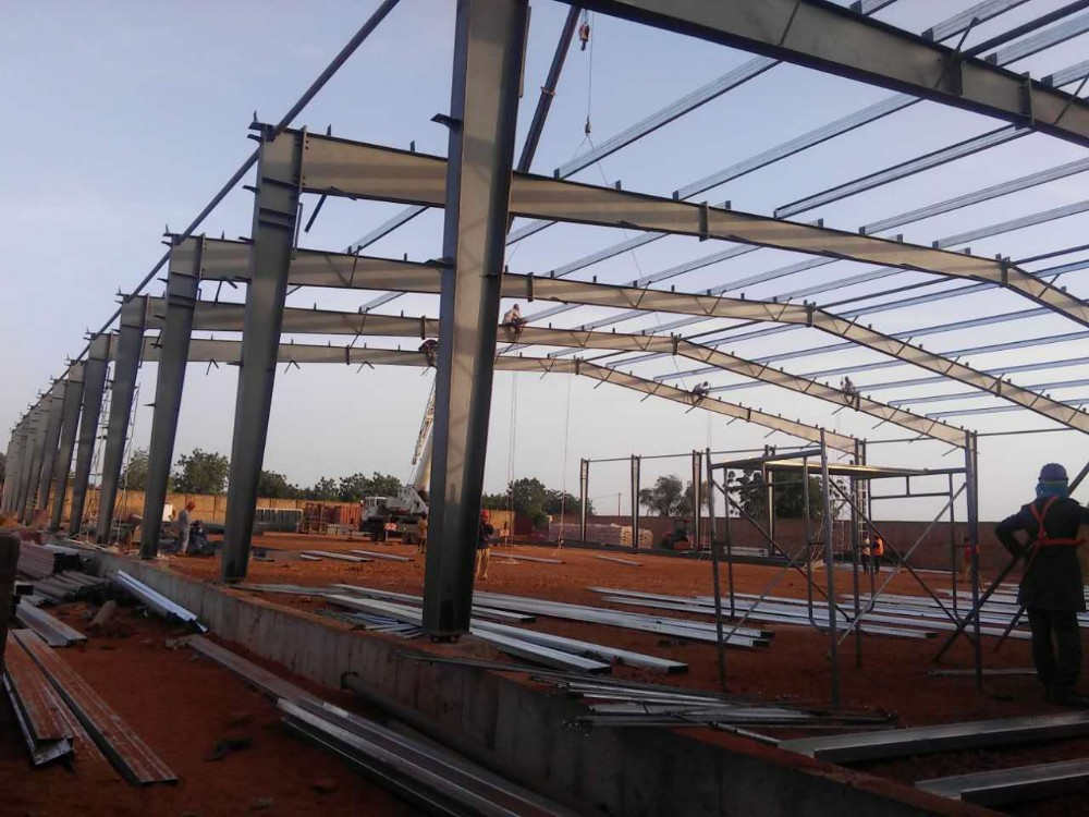 Cheap Modern Design Steel Frame Pre-made Workshop Project