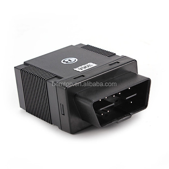 OBDII Car Gps Tracker GPS306A with Fuel Consumption,Mileage,Real-time tracking ,SMS Tracking on cellphone