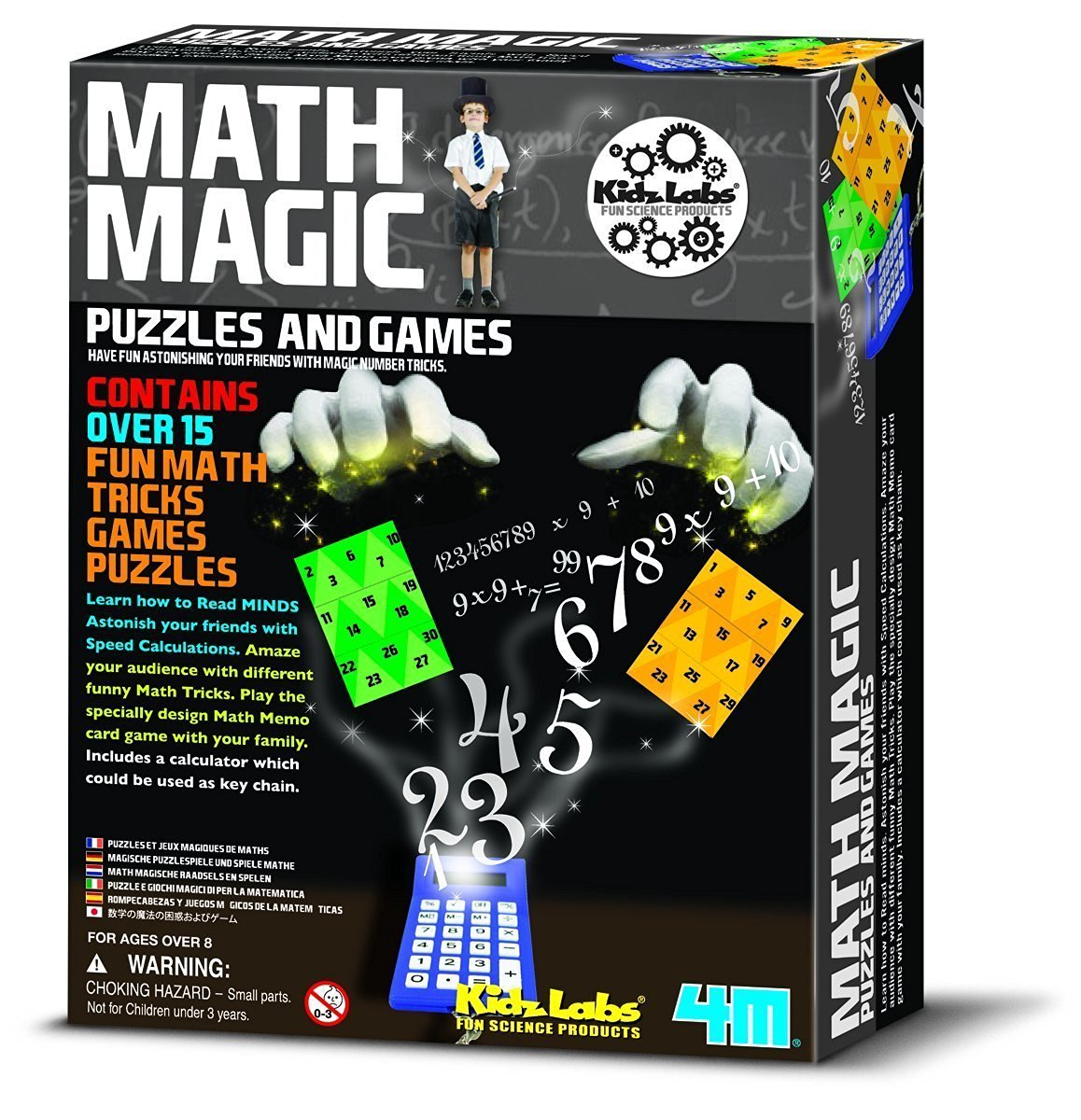 Number Tricks, Speed Calculations & Funny Math Tricks Magic Puzzles & Games