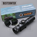 KANDAR SS2 4x21 AO Optics Hunting Scope Tactical Airsoft Sniper Rifle Reticle Optical Sight 11mm 15mm
