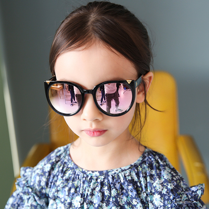 M404 Fashion Style Korean Colorful Children Sunglasses Flexible Mirror Lens Kids <strong>Shades</strong> High Quality <strong>Custom</strong> Logo