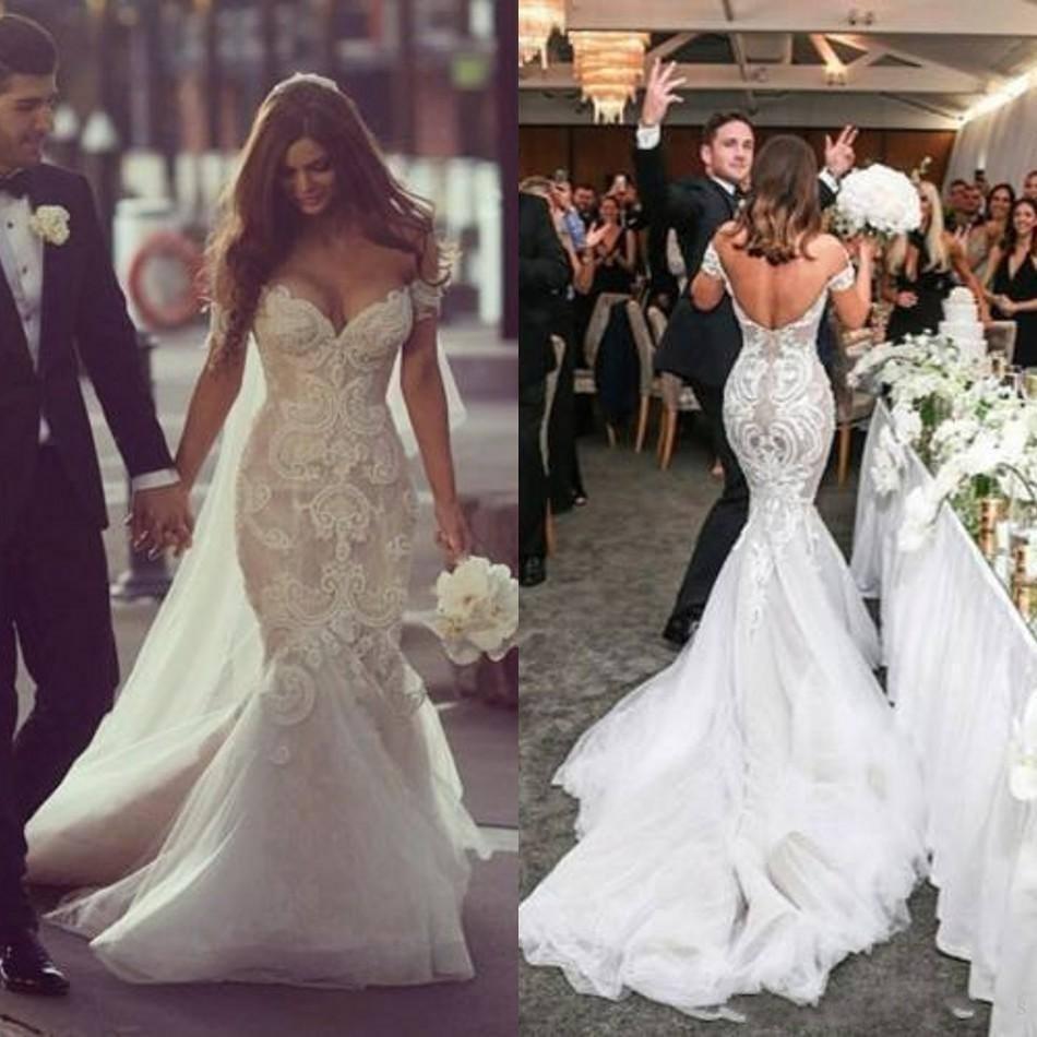 Sexy Beaded Wedding Dresses