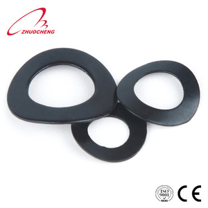 black oxide saddle shaped spring lock washer