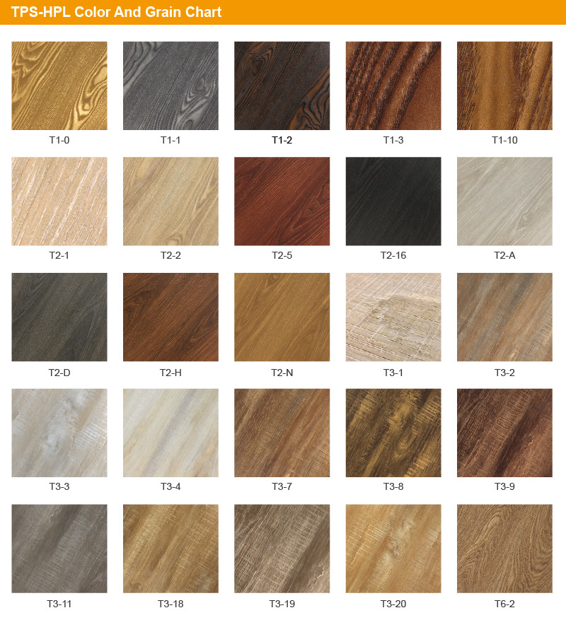 Decoration Synchronized Wood Grain hpl decortive sheet