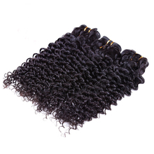 double drawn 100% human virgin natural human hair super kinky curly hair extensions