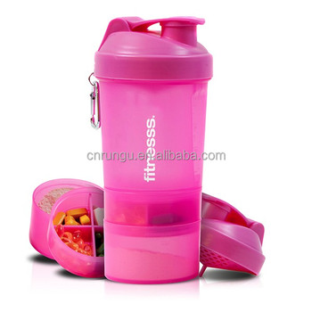 matte color 700ml blank protein shaker shaker bottle with company logo