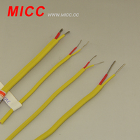 MICC yellow and red type PVC insulated thermocouple extension cable
