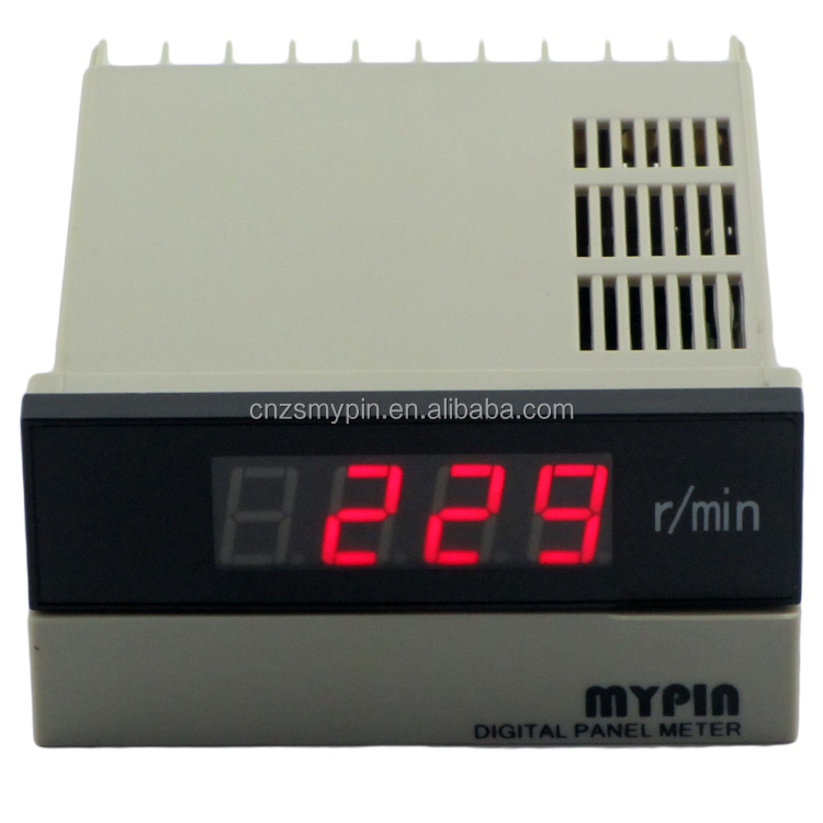 FA series 4/5/6 Digit Display Frequency Tacho Meter,RPM Counter Meter, HZ Meter