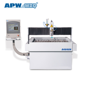 APW cantilever style waterjet cutting machine for metal and non-metal
