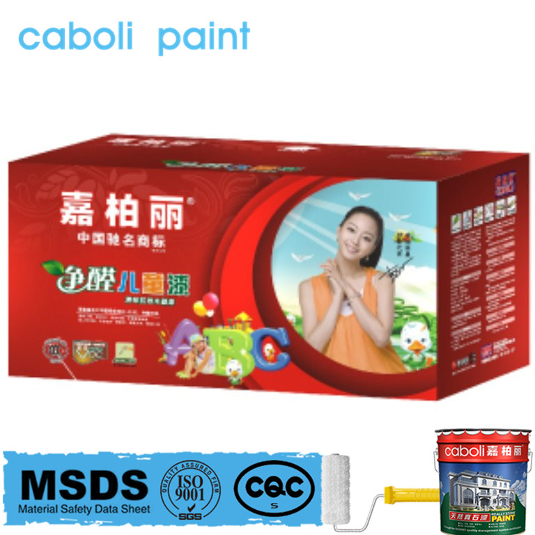 Caboli Color Wood Varnish For Children's Furniture
