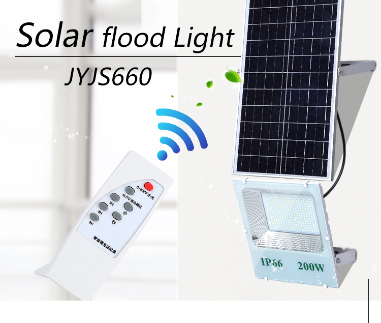 Hot sale aluminum smd ip66 waterproof outdoor 60w 120w 200w solar led flood light