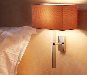 Modern Wall Mounted Bedside Lamp For Hotel Bedroom