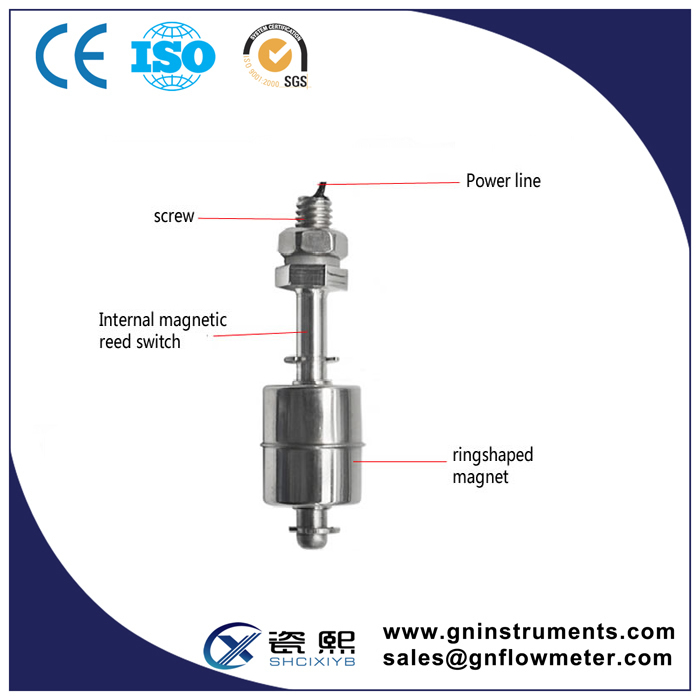 Float Level Gauge,Level Sensor Price,Mechanical Float Level Switch ...