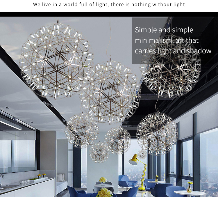 Good Price Modern Dining Room Hanging Ceiling Metal Ball LED Pendant Light