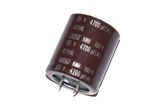 CAPACITOR ELECTROLYTIC 4700UF 80V