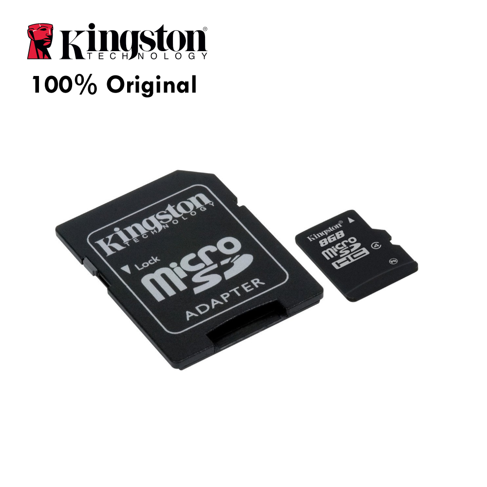 Kingston Professional MicroSDHC 16GB Card for Kodak EasyShare Z650 Camera with Custom formatting and Standard SD Adapter. 16 Gigabyte SDHC Class 4 Certified