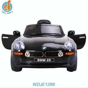 WDJE1288 New Style Happy Baby Remote Control 3 Seat Electric Rc Car Scooter For Wholesale