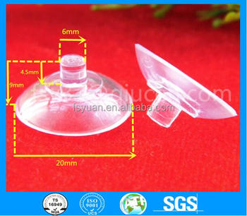 20mm PVC Plastic Suction Cups for Cloth/Car/Glass/Toy